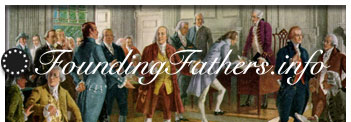 Founding Fathers Forum: answer to marks question